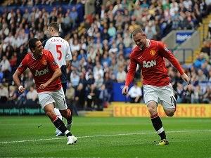 United strike duo miss training