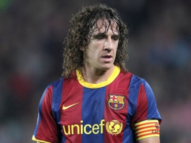 Team News: Puyol out for Barcelona