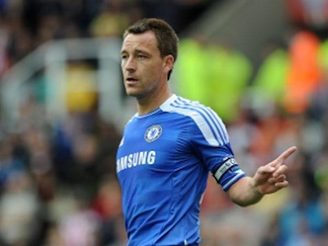 Terry plays down knee injury