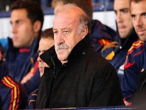 Del Bosque happy with options