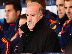 Del Bosque praises Silva, Mata