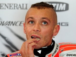 Valentino Rossi breaks finger after Japan crash