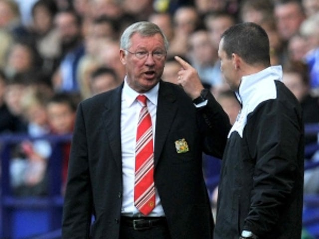 Ferguson furious with penalty decision