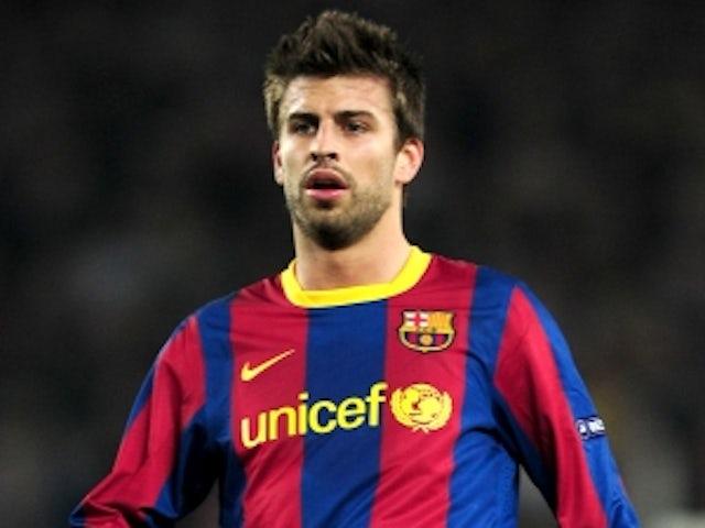 Team News: Pique absent for Barcelona