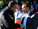 Paul Lambert and Brendan Rodgers