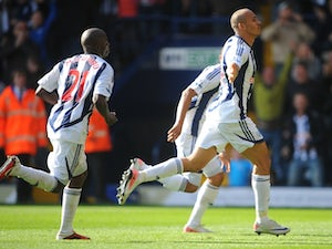 Result: Liverpool 0-1 West Bromwich Albion