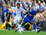 Moussa Dembele and Royston Drenthe
