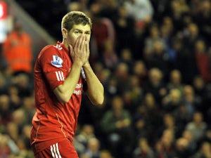 Team News: Gerrard absent for Liverpool