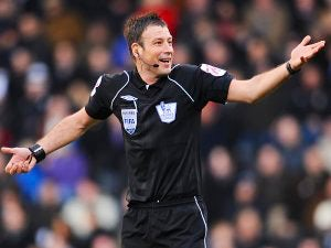 Clattenburg appointed Manchester derby referee