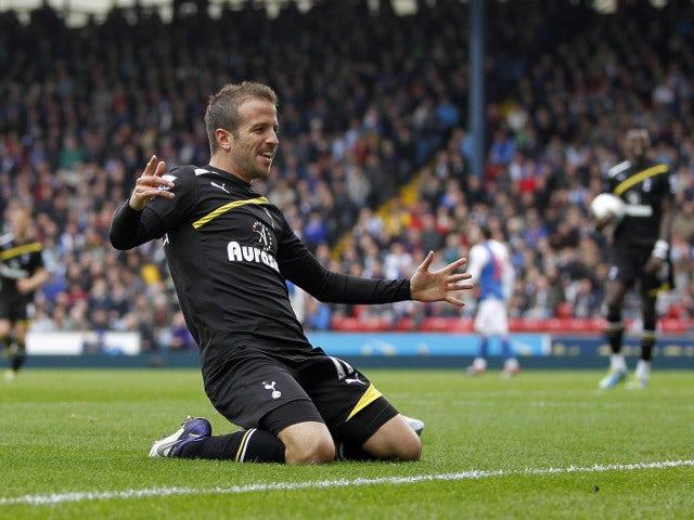 Team News Rafael Van Der Vaart Returns For Tottenham Hotspur