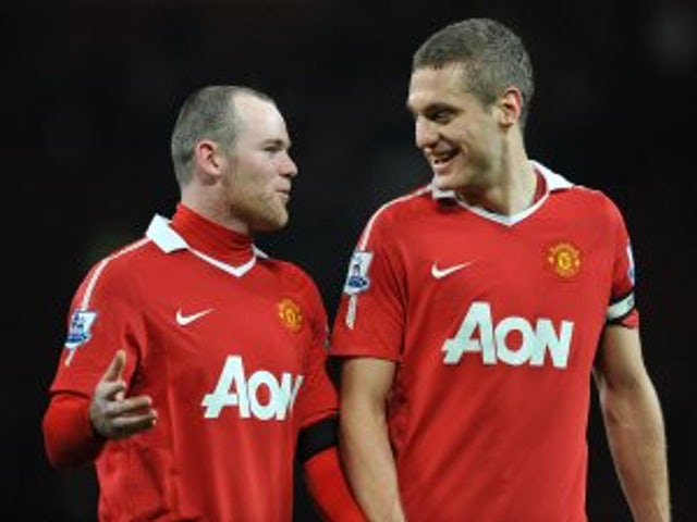 Vidic: 'Rooney in best shape'