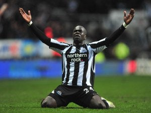 Tiote: 'I'm happy at Newcastle'