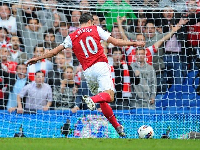 No FA action for Van Persie