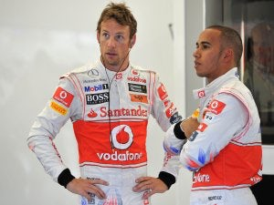 Hamilton and Button fastest in final practice