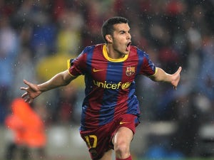 Barca's Pedro out of Madrid quarter-final