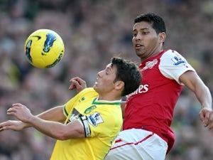 Santos finding life tough at Arsenal
