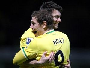 Team News: Holt, Ruddy return for Norwich