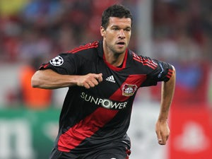 Ballack mistaken for Matt Damon