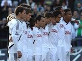 Swansea players