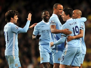 Result: Manchester City 3-2 Southampton