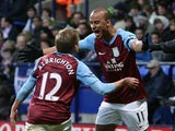 Gabriel Agbonlahor and Mark Albrighton