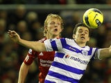 Dirk Kuyt and Joey Barton