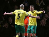 Grant Holt and Steve Morison