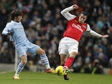 David Silva and Robin Van Persie