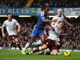 Didier Drogba and Richard Dunne
