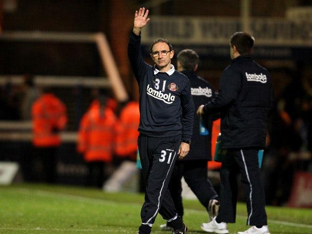 O'Neill laughs off Sunderland's Euro hopes