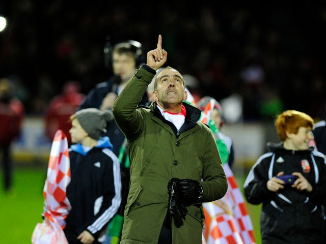 Result: Swindon 3-0 Brighton