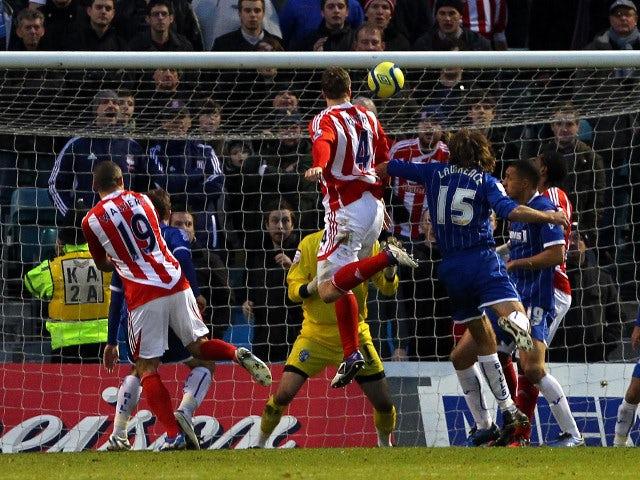 Result: Gillingham 1-3 Stoke City