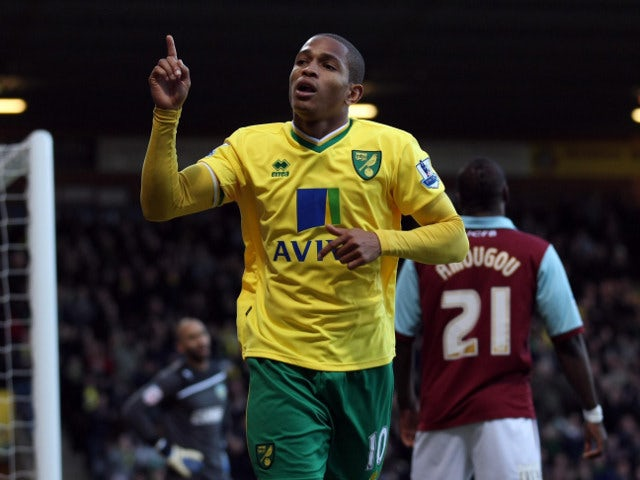 Result: Norwich 4-1 Burnley