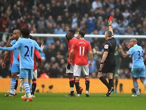 Ferguson: 'Kompany deserved red card'