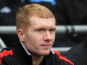 Scholes out for fortnight