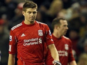 Gerrard to continue in attacking midfield