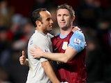 Robbie Keane and Landon Donovan