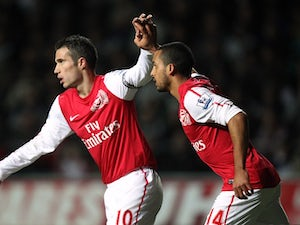 RVP proud of Arsenal captaincy