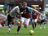 Louis Saha and Richard Dunne