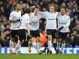 Tottenham players