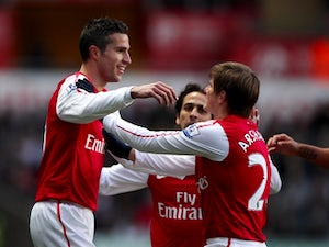 Wenger remains confident over RVP