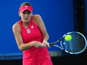 Result: Radwanska advances in straight sets