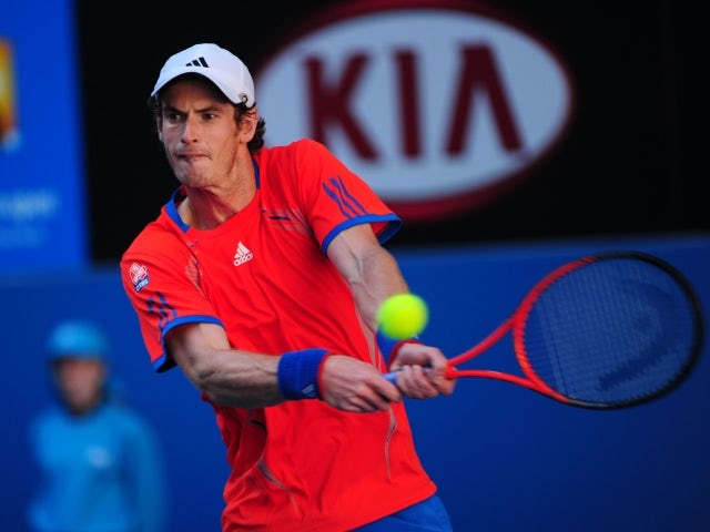 Result: Murray storms into second round