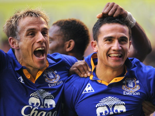 Moyes: 'I knew Cahill would end goal drought'