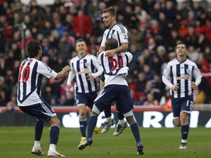 Result: Stoke 1-2 West Brom