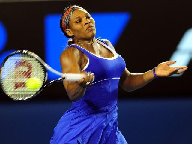 Result: Serena through by retirement