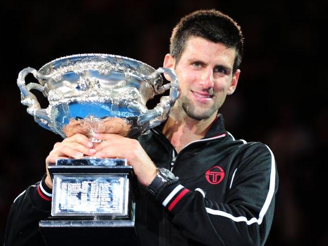 In Pictures: Australian Open: Men's final