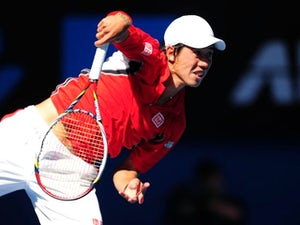 Result: Kei Nishikori advances in Paris