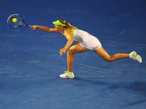 Result: Sharapova into WTA semis