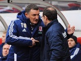 Tony Mowbray and Martin O'Neill